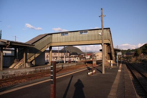 久美浜駅跨線橋