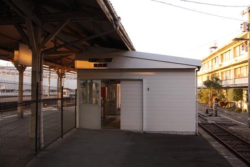 豊岡駅駅舎近景
