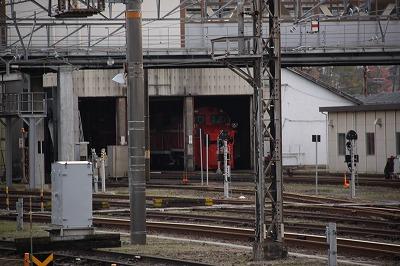 豊岡駅ラッセルヘッド