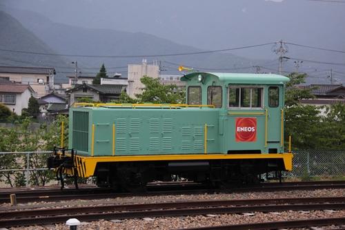 坂城駅留置車両