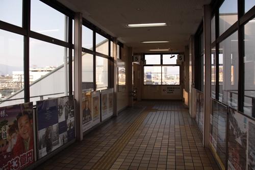 樽見鉄道大垣駅通路橋