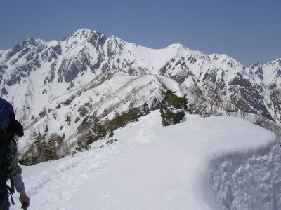 021遠見尾根と五竜岳