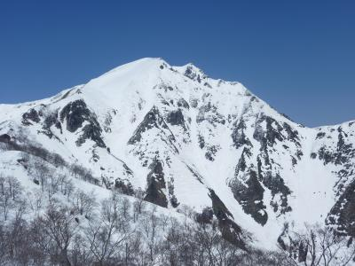 田尻尾根からの谷川岳