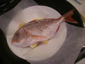 鯛フライパン