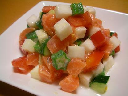 山芋ダイスサラダ