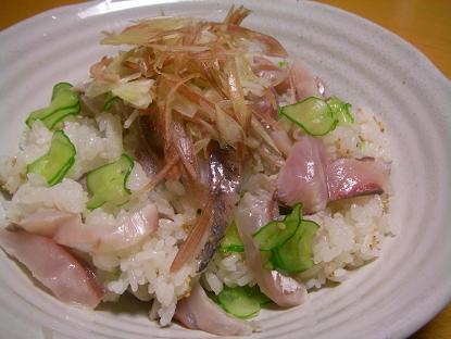 アジちらし寿司