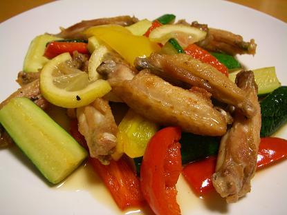 夏野菜チキン
