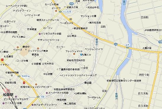 丸亀ビル広域地図