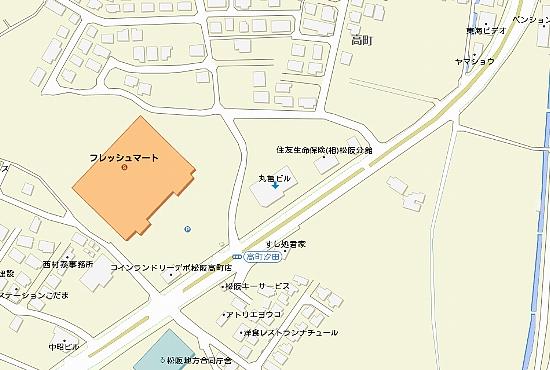 丸亀ビル詳細地図