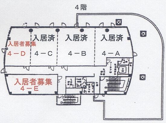 丸亀ビル4階図面