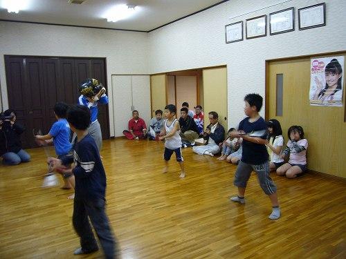 H2105091中下新町獅子方練習