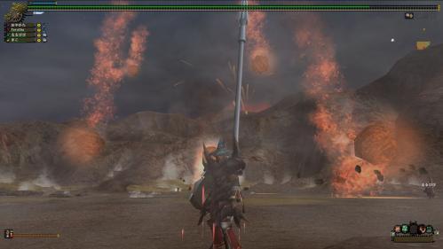 18.火山からの燃え滾る火山岩、まるでメテオかコメットか(FFシリーズ)-2