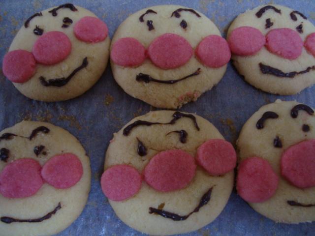 アンパンマンクッキー2