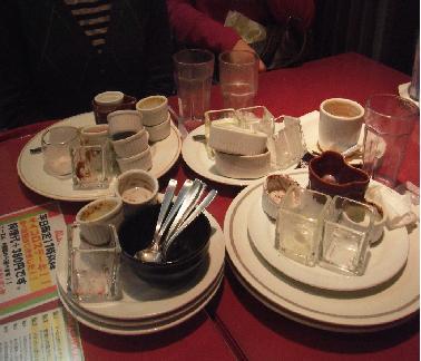 食べた後・・・