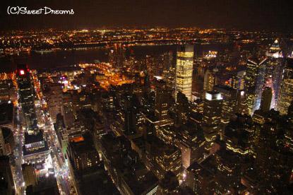 マンハッタンの夜景♪