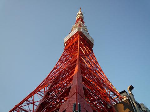 12年ぶりの東京タワー