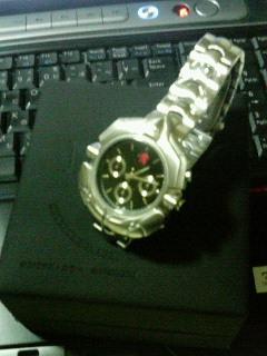 おまけの腕時計