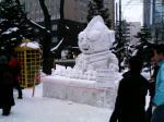 今年もあった!大量の雪だるまシリーズ!