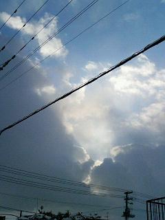何か良い感じの雲