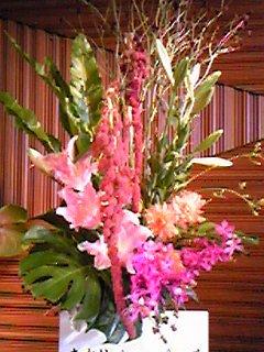 ピアノ発表会の花