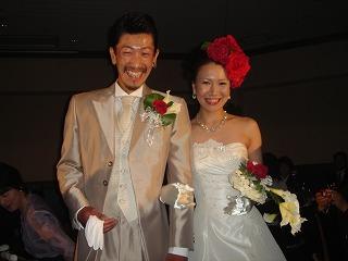 綺麗な花嫁とロックな旦那