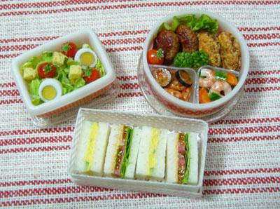ドールハウス お弁当 サンドイッチ ミニチュア