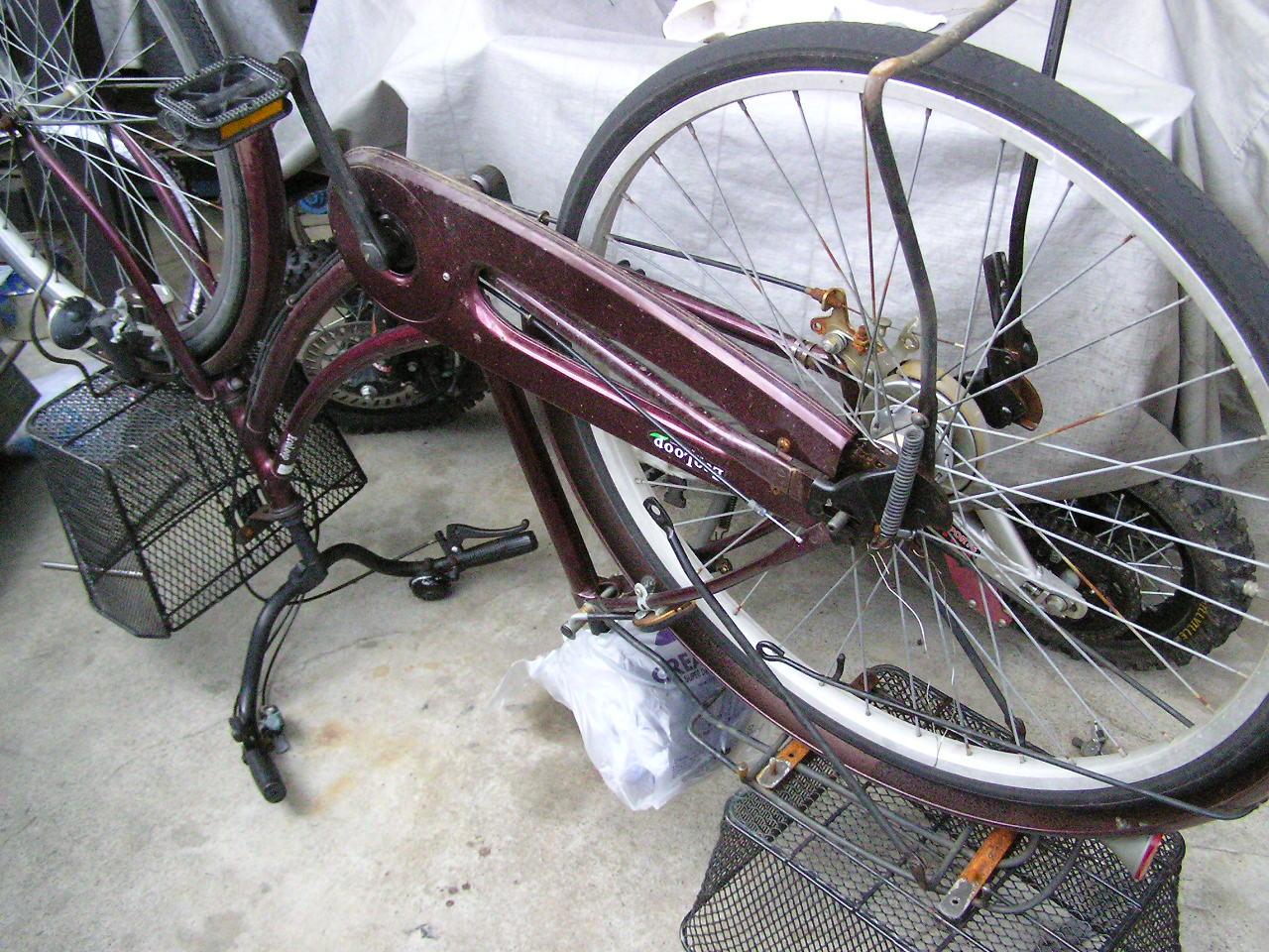 ... 正しい自転車のタイヤ交換