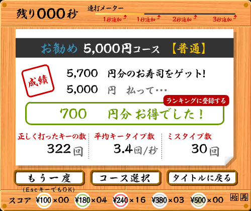 寿司打5000-2