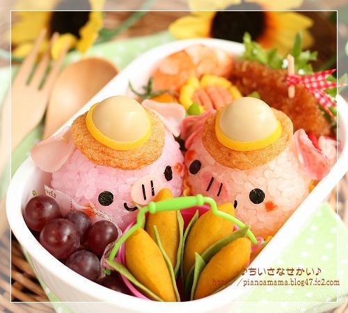 ブタちゃん&トウモロコシ
