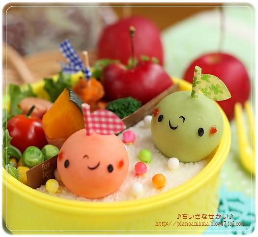マッシュりんごちゃん 青リンゴピント