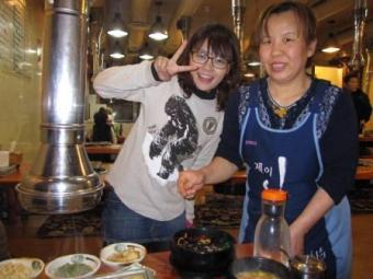 東大門の美味しい焼肉やサン