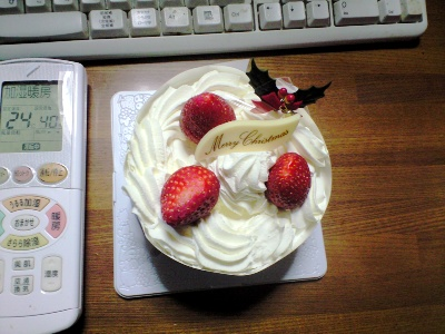 ちいさなちいさなケーキです。
