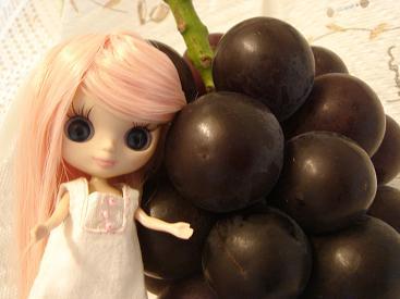 葡萄とカスタム