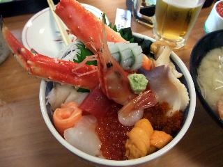 海鮮若駒丼