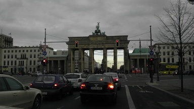 Shurinked Berlin Gate