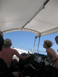 タオ島ダイビング セイルロック スピードボート