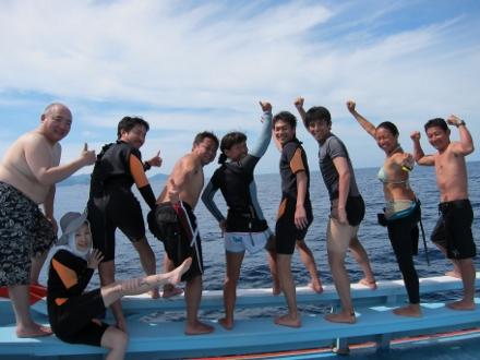 タオ島 ダイビング ダイビングボート