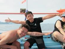 チームバラクーダ ダイビングボート