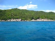 タオ島 景色 島 水面