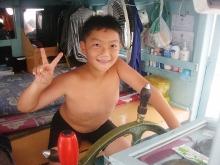 タオ島 ダイビング ボート キャプテン室