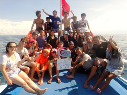 タオ島  ダイビング セイルロック