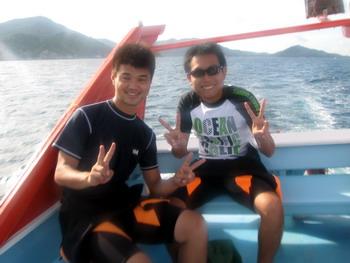 タオ島 ダイビング 9月2日アドバンス修了
