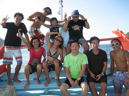 タオ島 ダイビング ボート