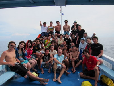 タオ島ダイビング SR集合写真