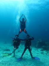 タオ島 ダイビング 記念撮影