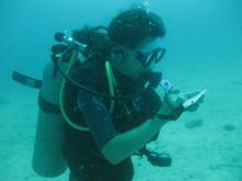 タオ島ダイビング AOW講習コンパス