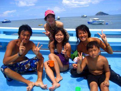 アドバンスOW誕生(タオ島 ダイビング)