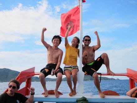 タオ島 ダイビング AOW終了17082011