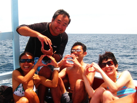 タオ島ダイビング ツインズ イソギンチャクエビ
