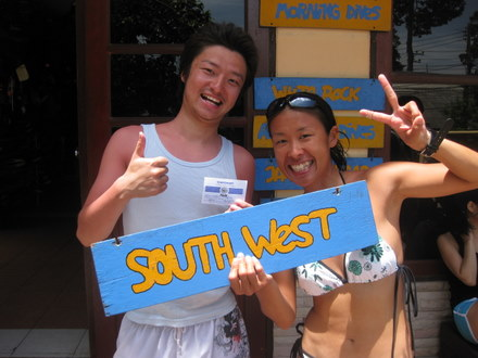 タオ島 ダイビング 講習 生徒